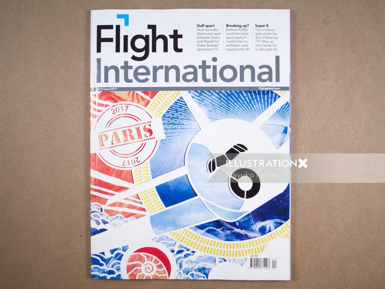 Cover Illustration For Flight International Magazine