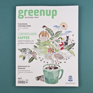 Cover Illustration For greenup Magazine
