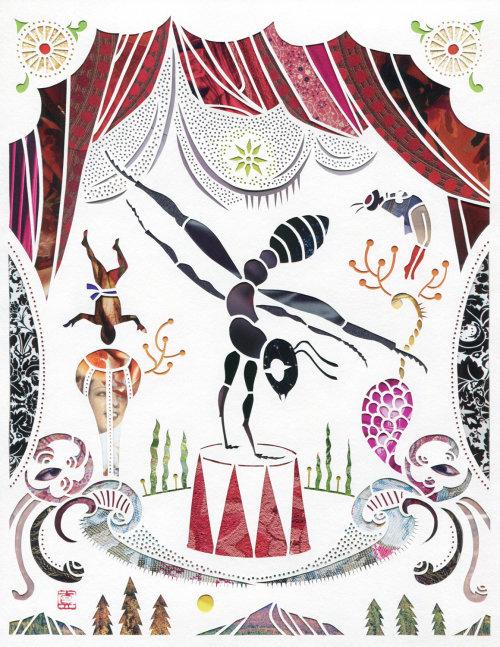 Graphic animal circus