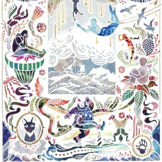 Mayuko Fujino Paper Art