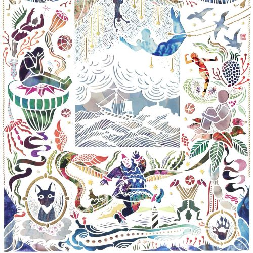 Mayuko Fujino Paper artist. New York