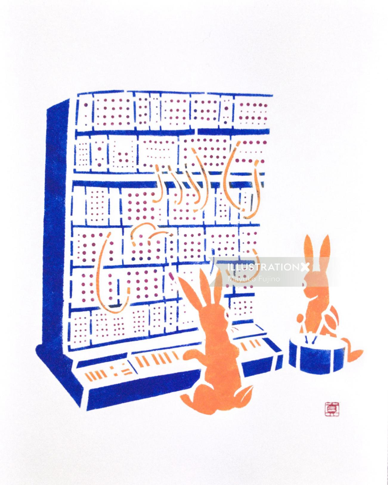 Synth Bunnies