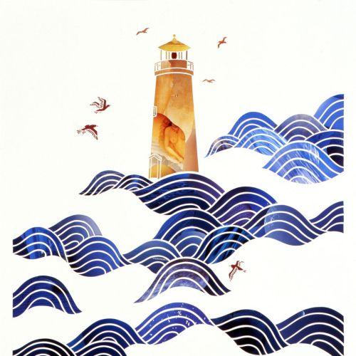 An illustration of light house