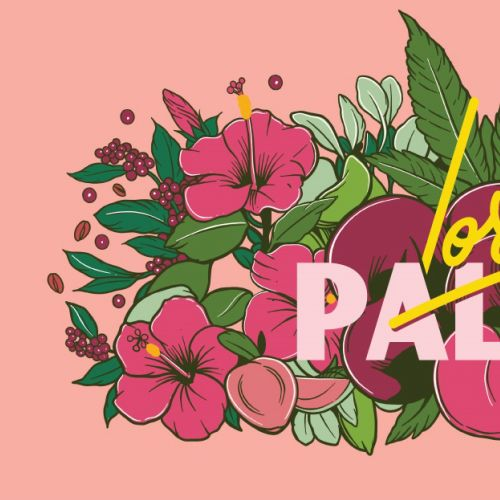 Graphic design for Lost Palms Brewing Co