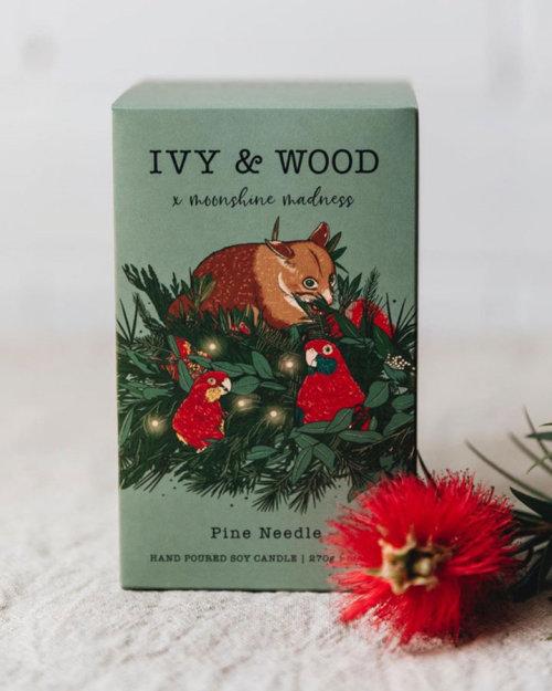 Diseño de producto navideño Ivy & Wood