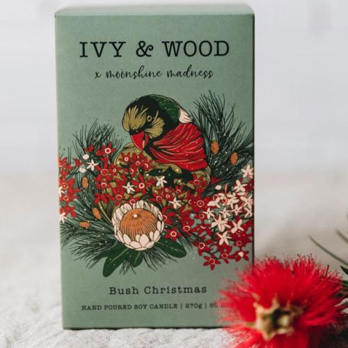 Ivy & Wood bush christmas product design