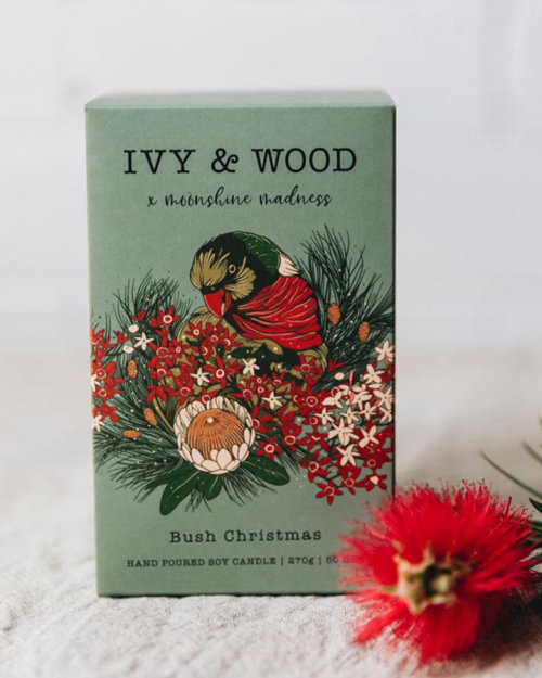 Diseño de producto navideño Ivy & Wood bush