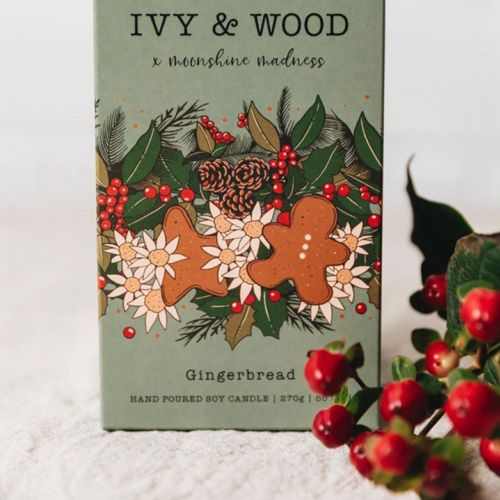 Ivy & Wood Ginger bread product design