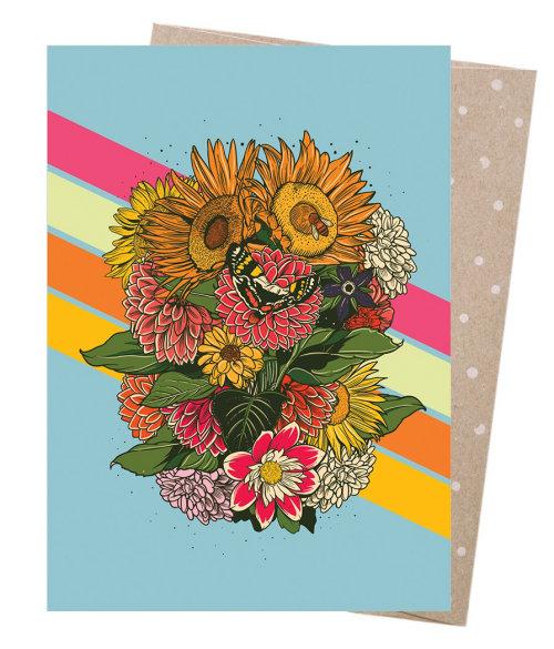 pintura de flores sobre papel