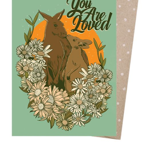 You are loved kangaroo painting