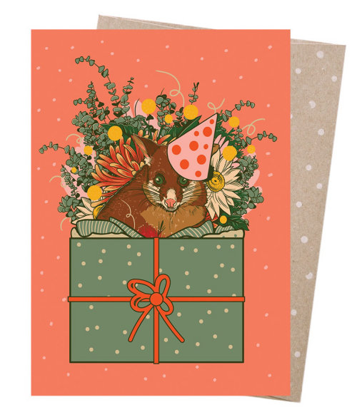 Pintura de tarjeta de navidad