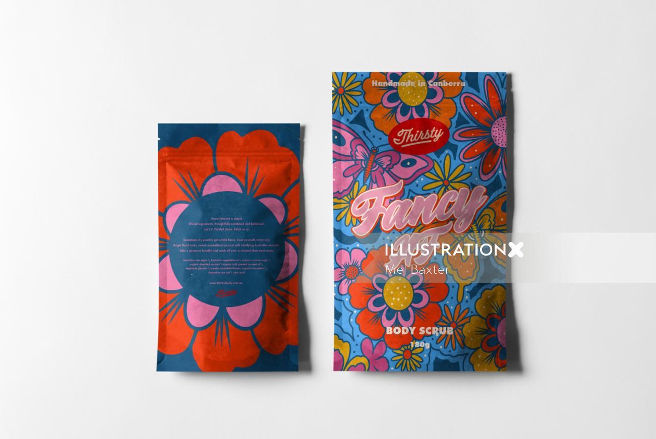 Decorative fancy packet