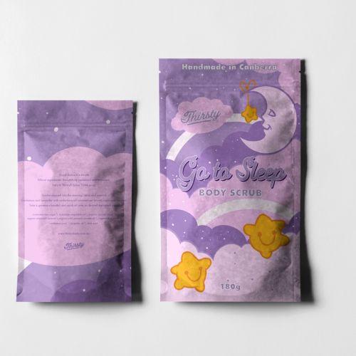 Decorative goto sleep packet