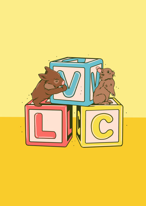 Animales ardillas con bloques de letras.