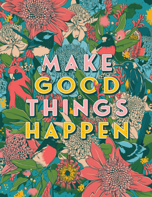 la naturaleza hace que sucedan cosas buenas