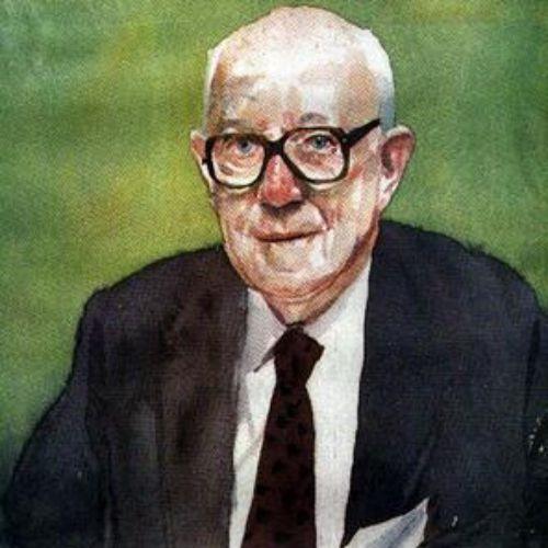 Portrait illustration of gentleman
