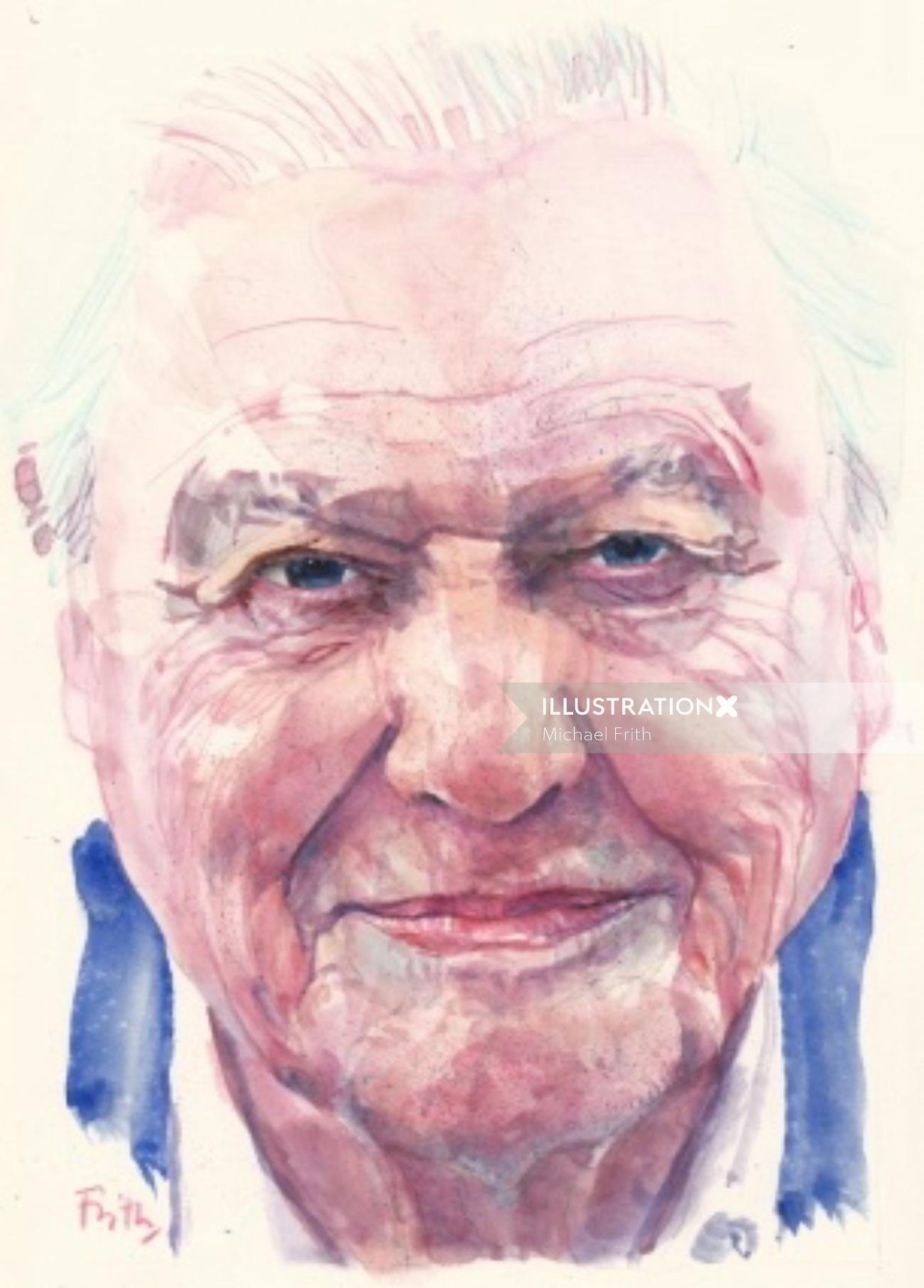 Portrait of David Butler