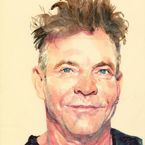 Michael Frith Portrait & Watercolour illustrator. UK