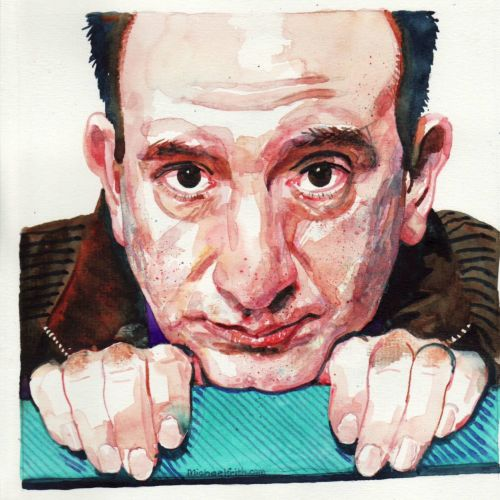 Portrait of Armando Iannucci