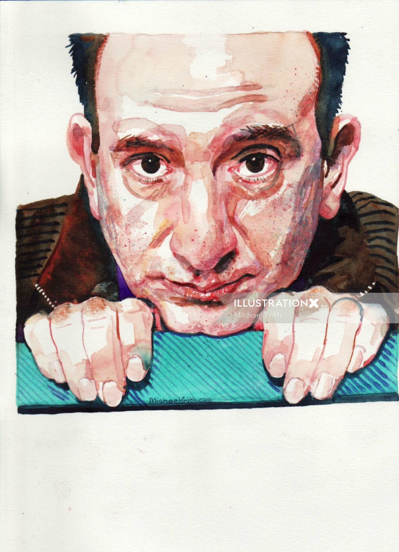 Portrait of Armando Iannucci