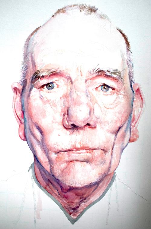 Pete Postlethwaite Portrait