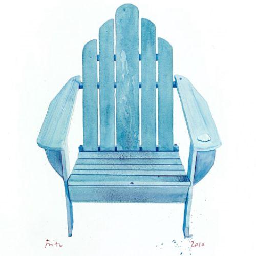 Illustration of chair