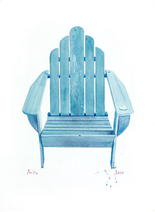 Illustration of chair