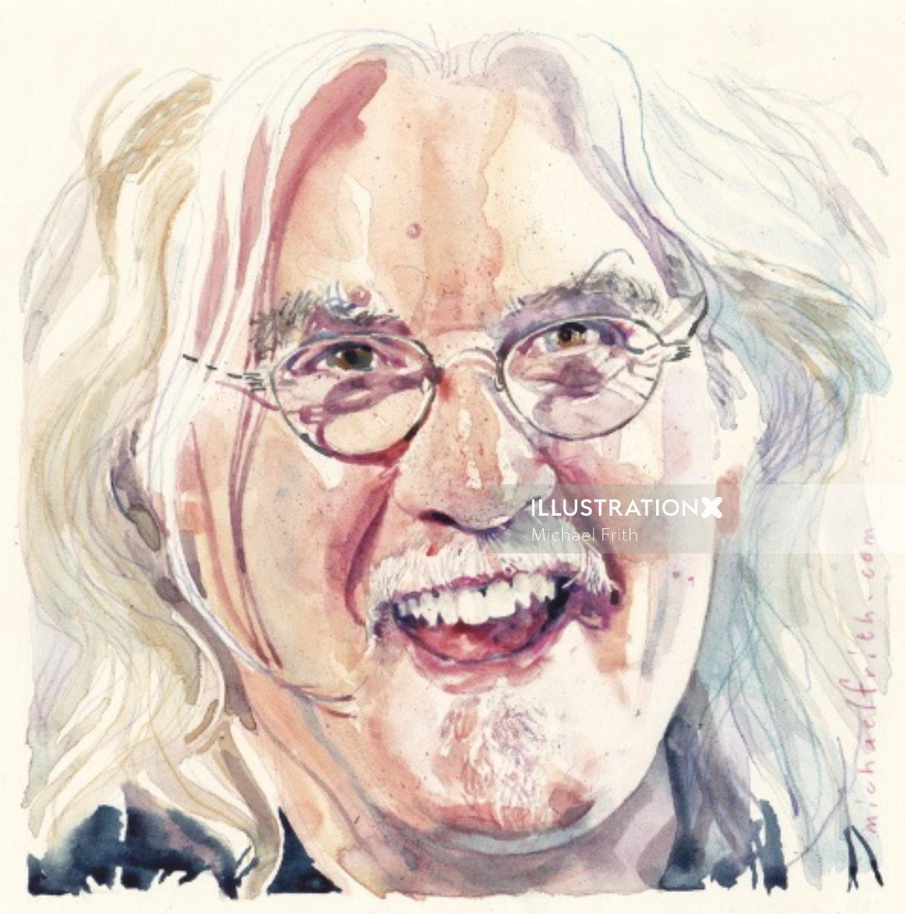 Portrait of Billy Connolly