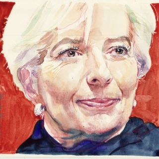 Michael Frith - Portrait & Watercolour illustrator. UK