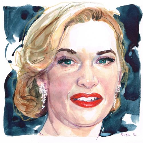 Kate winslet portrait illustration