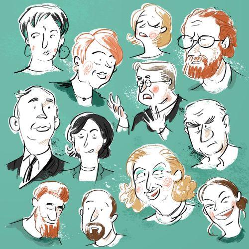Michael Mantel Character illustrator. Germany