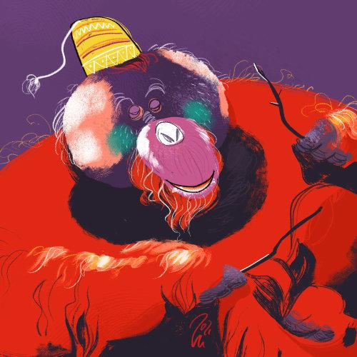 Animal Ape digital art