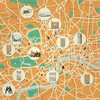 Mike Hall - International map and architectural  illustrator. Valencia