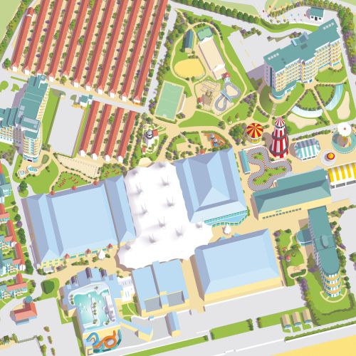 Butlins Bognor Regis resort map