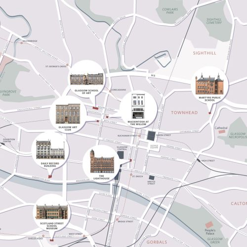 Maps scotland important places