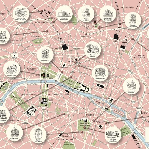 Mike Hall International map and architectural  illustrator. Valencia