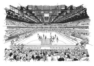 Illustration of The Copper Box With Crowded