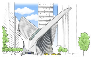 Calatrava's World Trade Center Transportation Hub