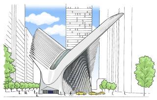 Calatrava's World Trade Center Transportation Hub