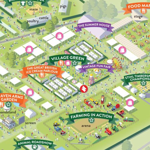 Map illustration of Country file Live visitors