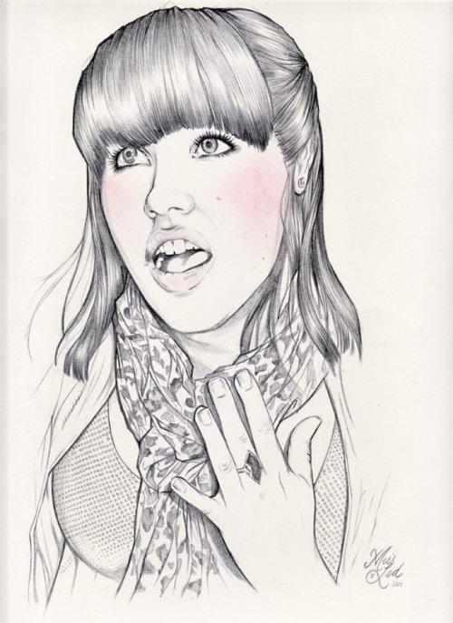 Fashion illustration by Miss Led