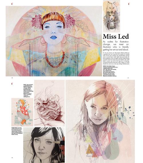 Illustration by Miss Led