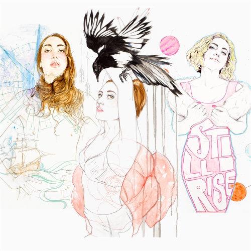 Women fashion illustration by Miss Led