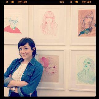 Miss Led - International Fashion & Beauty illustrator. London