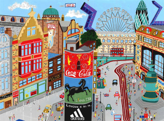 painting of the London 2012 Olympics