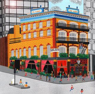 painting of the Albert pub, Victoria street,London