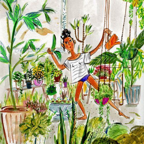 Mokshini Lifestyle Illustrator from USA