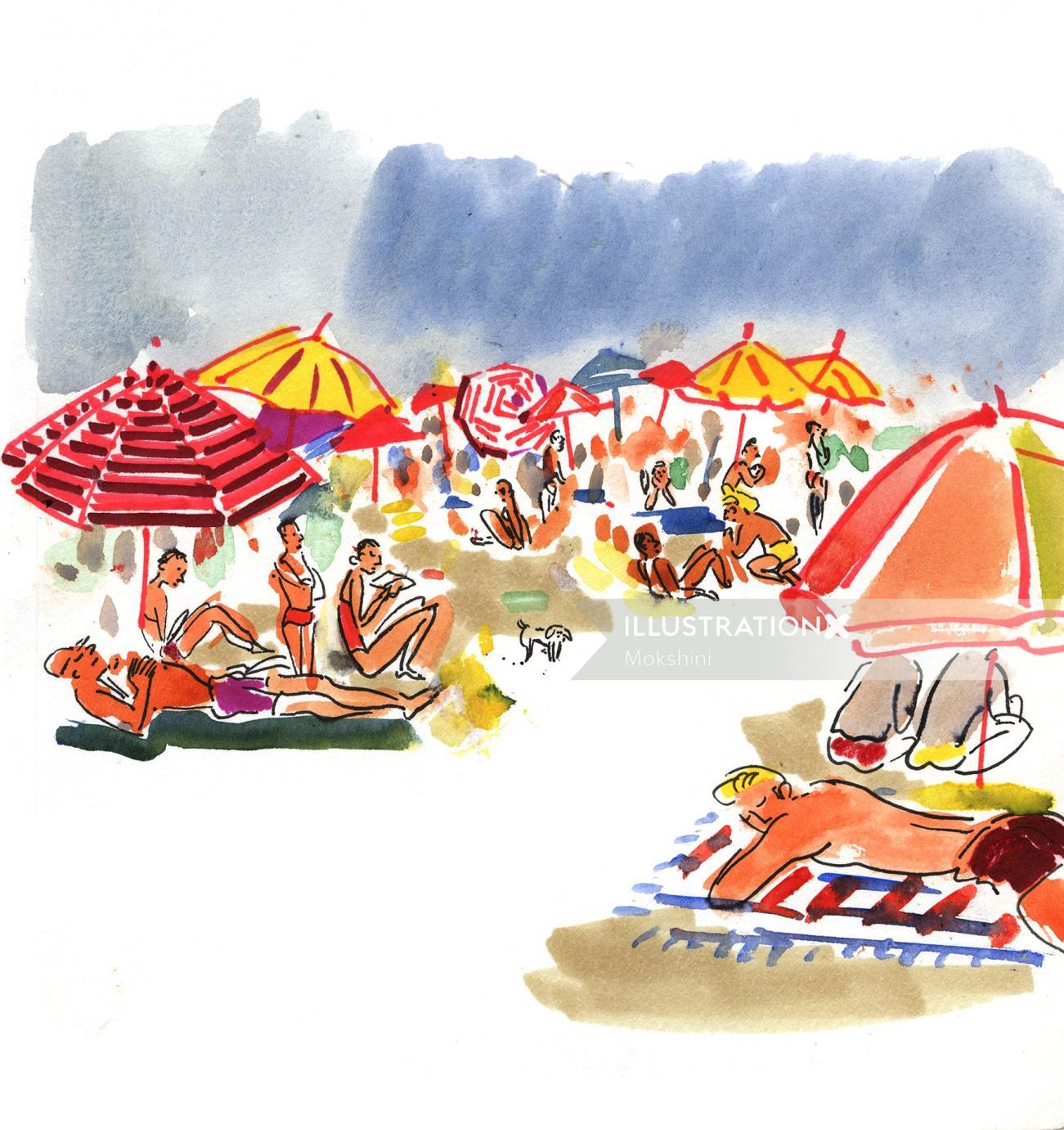 Sketchbook: Fire Island