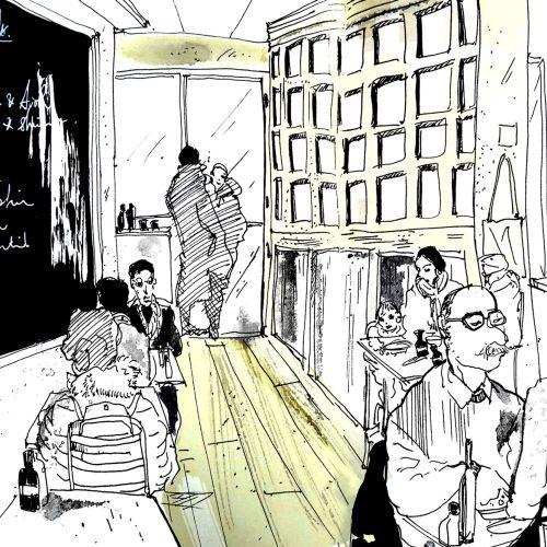 Sketchbook: Park Ave, New York