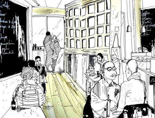 Sketchbook: Park Ave, New York